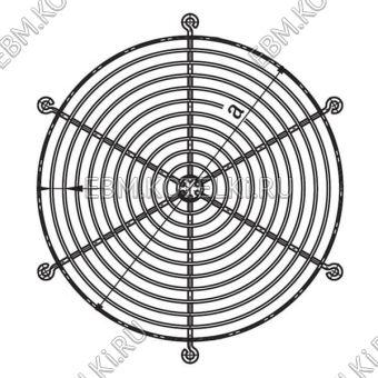 Защитная решетка вентилятора ebmpapst 09532-2-4039